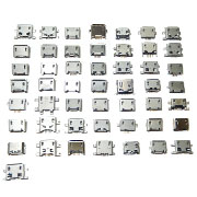 50PCS Micro USB Type-B Socket Connector