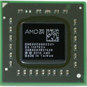 EME300GBB22GV E-300 Processor AMD Mobile CPU BGA413 1.3 GHz Cores2