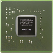 G86-771-A2 GPU NVIDIA GeForce 8600M GS