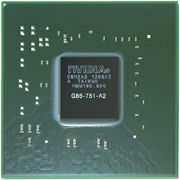 G86-751-A2 GPU NVIDIA GeForce 8600M GS