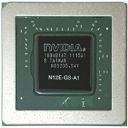 N12E-GS-A1 GPU NVIDIA GeForce GTX560M