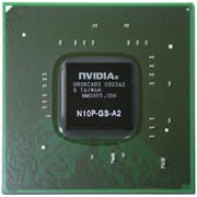 N10P-GS-A2 GPU NVIDIA GeForce GT240M