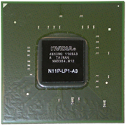 N11P-LP1-A3 GPU NVIDIA GeForce G330M