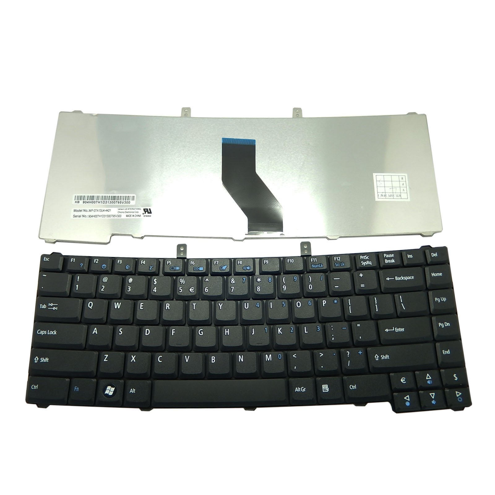 Acer Extensa 5630Z Black US Keyboard