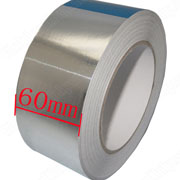 Aluminium Foil Tape 60mm*40m Roll Ideal For Heat Reflection