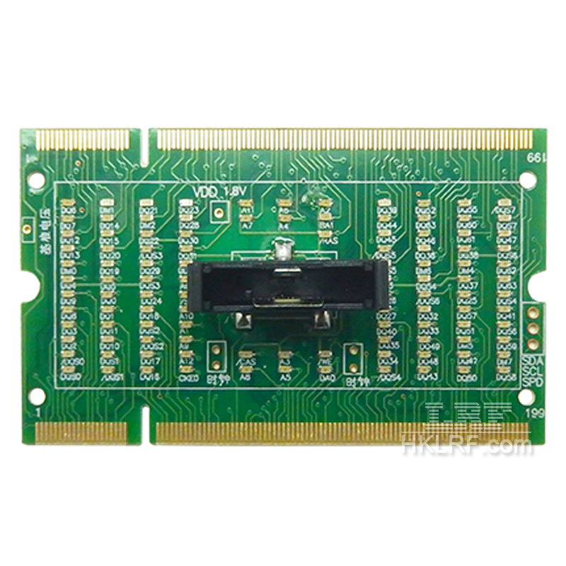 Laptop Motherboard Memory Slot DDR2 SDRAM SO-DIMM Pin Out