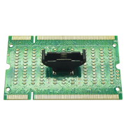Laptop Motherboard Memory Slot DDR2 SDRAM SO-DIMM Pin Out LED Tester Card