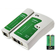 High quality Network Cable Tester RJ11 RJ12 RJ45 Cat5 CAT5E Networking tool