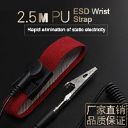 Anti-Static Wristband Wrist Strap Band ESD Discharge PC Electricity Grounding