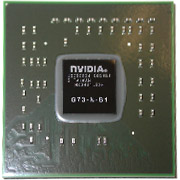 G73-N-B1 GPU NVIDIA Graphics Chipset