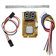 5 in 1 Mini PCI I2C PCI-E LPC ELPC Notebook Diagnose Test Debug Post Card Karte PC Analyzer