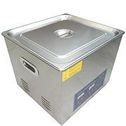 PS-60A Digital Ultrasonic Cleaner Stainless Steel Heater Timer Industrial Grade 15L
