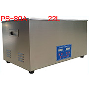PS-80A Digital Ultrasonic Cleaner Stainless Steel Heater Timer Industrial Grade 22L