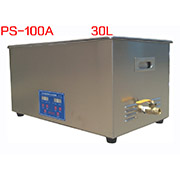 PS-100A Digital Ultrasonic Cleaner Stainless Steel Heater Timer Industrial Grade 30L