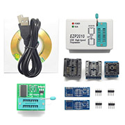 EZP2010 USB Programmer Support 24/25/26/93 EEPROM Flash Bios and Adapter Socket