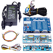 "T-V18 Test Tool LED LCD Screen Tester Support 7""-84""+Voltage Transformer Board &14 LVDS"