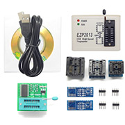 EZP2013 USB Programmer SPI 24 25 93 EEPROM Flash Bios win8 32/64bit and Adapter Socket