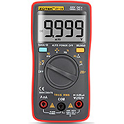 ZOTEK ZT109 Multimeter Portable Handheld Digital 9999 Counts LED Backlight Large LCD Display Electrical Test Diagnostic Machine