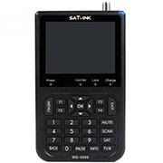 "SATlink WS-6906 DVB-S FTA Data Digital Satellite Signal Finder Meter HD 3.5""LCD"