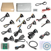 VXSCAN Carprog V10.93 Full With 21 Adapters Support Airbag Reset/Dash/IMMO/MCU