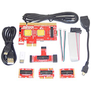 PCI PCIE LPC MiniPCI-E Analyzer Type B Card KQCPET6-V8 for PC Laptop Android ​phone Tester