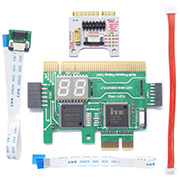 TL611-Pro Diagnosis Card + MINI PCIE + A-DEBUG Desktop PCI Mainboard PCI-e Notebook Debugging Card Apple PC LPC Debug
