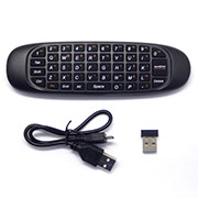 Air Mouse with Gyroscope QWERTY keyboard Compatible for Android Windows Mac OS Linux