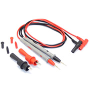 "1 Pair 1000V 20A Universal Digital Multimeter Multi Meter Test Lead Probe Wire Pen Cable + ""crocodile""Clip"