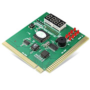 4 Bit PCI motherboard test card diagnosis card desktop fault test card