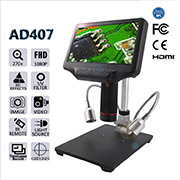 Andonstar AD407 1080P HDMI Digital Microscope for Circuit Boar