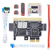 TL631-Pro Diagnosis Card + MINI PCIE + A-DEBUG Desktop PCI Mainboard PCI-e Notebook Debugging Card Apple PC LPC Debug